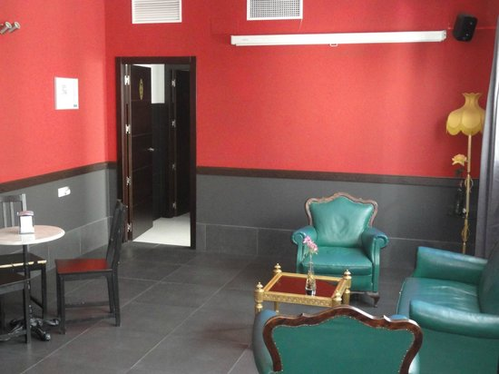 Oasis Backpackers' Palace Seville: Coin salon