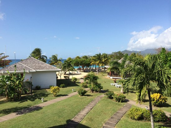 Coyaba Beach Resort : View from an ocean view room