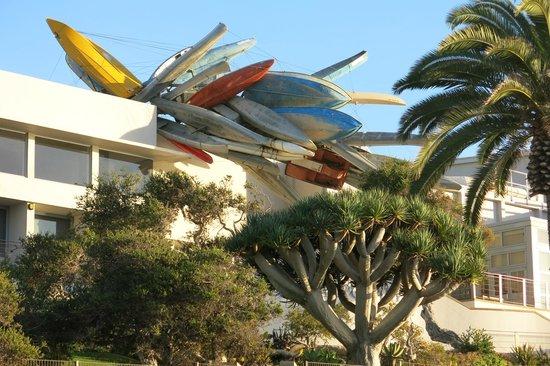 Museum of Contemporary Art San Diego: musée coté océan