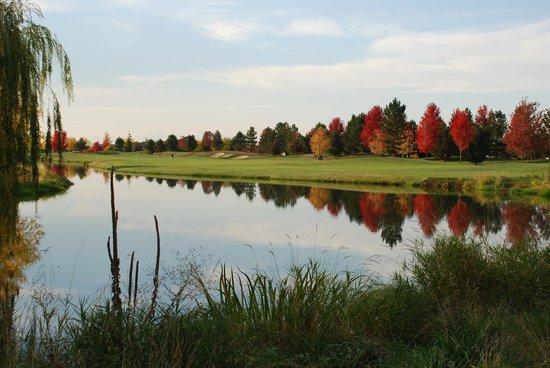 BanBury Golf Club : Autumn on the golf course