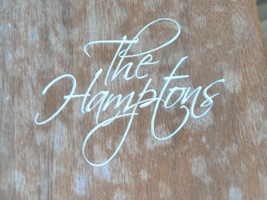 The Hampton's Hotel: Handy booklet with local info