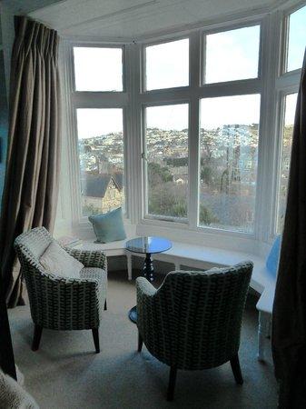 The Hampton's Hotel: Window seat