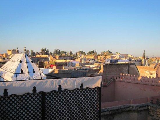 Riad Kenzo : Vue depuis la terrasse