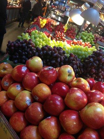 Market in Granville Island