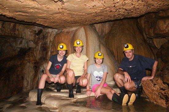 Venado Caves : Photo Famille