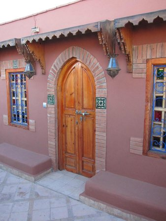 Riad Kenzo: terrasse