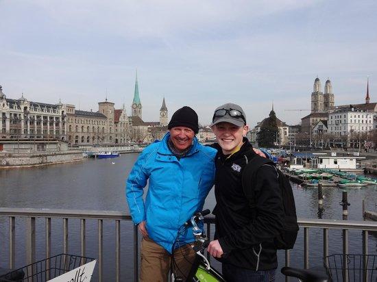 Toptrek Touren : Bruno (from TopTrek) and Andrew