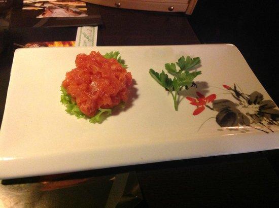 Pingusto : Tartare di salmone