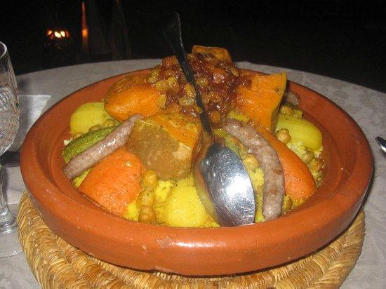 Dar Amanza: couscous maison
