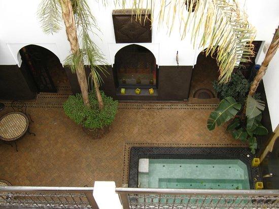 Dar Amanza : patio du riad
