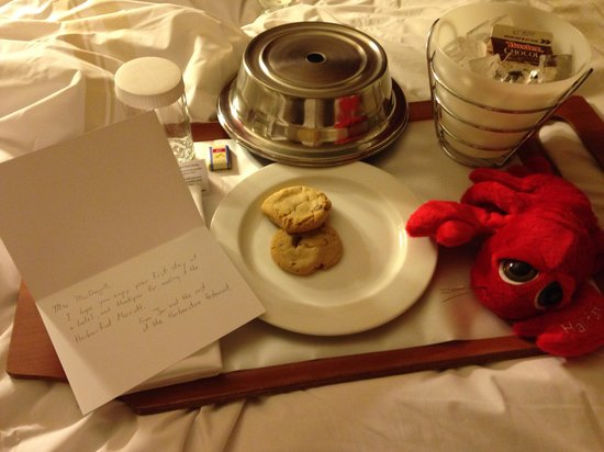 Halifax Marriott Harbourfront Hotel : Great surprise