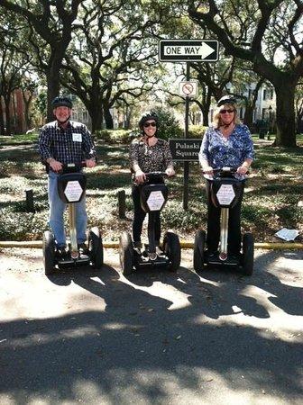Segway of Savannah: Segway Tours of Savannah
