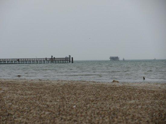 Rockport Beach : A grey day but still pleasant