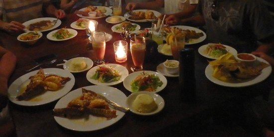 El Timon : our table