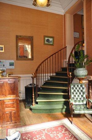 Hotel Chopin: Lobby/Rezeption