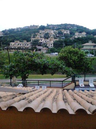 Barra da Lagoa Hotel: Una vista desde el balcón de la habitación 14