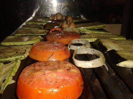 El Chante Vegano : Parrillada de Vegetales!!