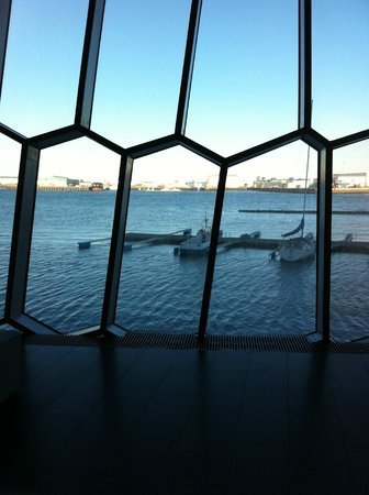 Harpa Reykjavik Concert Hall and Conference Centre: view from inside