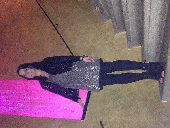 Design Hotel Jewel Prague: Stair case - ignore the posing!