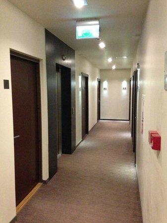 Old City Boutique Hotel: 3rd floor corridor