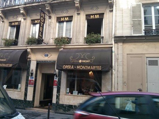 Migny Hotel Opera Montmartre: Hotel migny opera' Montmartre