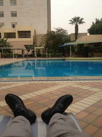 Sonesta Hotel, Tower & Casino Cairo : Cool pool