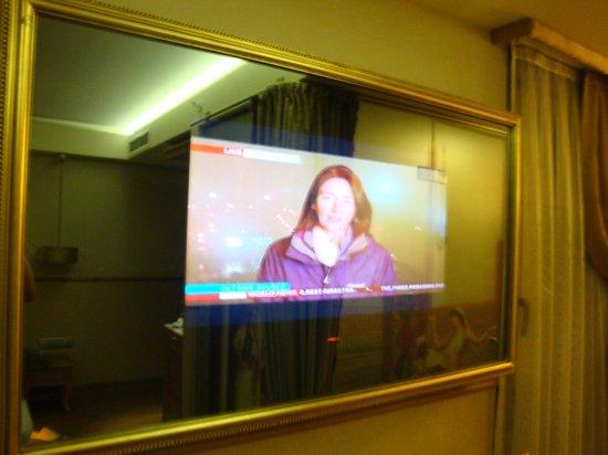Hotel Sultania: mirror style TV