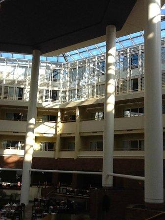 Hyatt Regency Princeton : l'ampio spazio interno