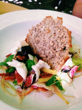 Bread and Wine: Fig salad