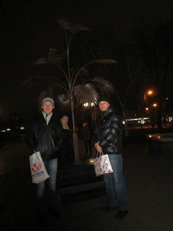 Pushkin Boulevard: бульвар Пушкина, декабрь 2013