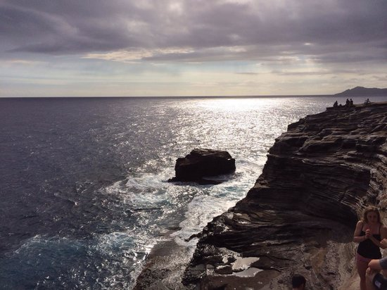 Spitting Cave of Portlock : Above