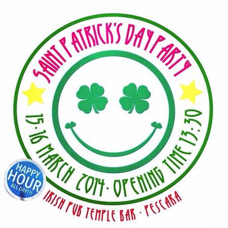 Irish Pub Temple Bar : Saint Patrick's day Party