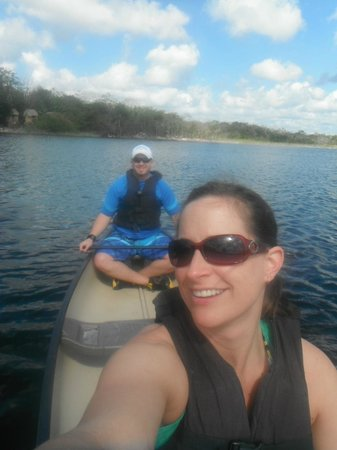Excellence Riviera Cancun : Canoing at Coba