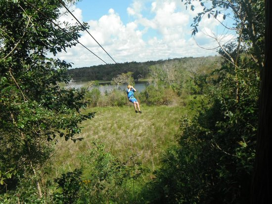 Excellence Riviera Cancun : Ziplining in Coba