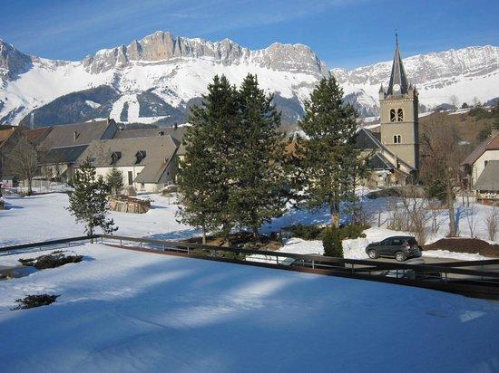 Hotel Restaurant Le Chalet : Vue de notre chambre