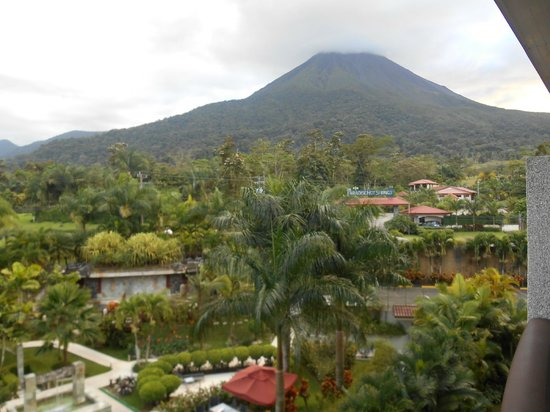 The Royal Corin Thermal Water Spa & Resort: Volcano from my balcony