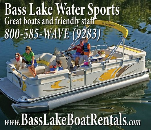 Bass Lake Water Sports Boat Rentals : Come on Down and Rent Your Pontoon in Bass Lake California