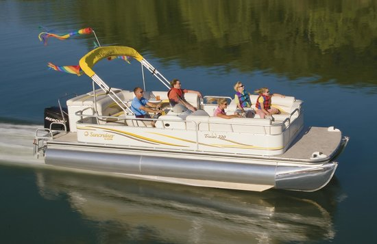 Bass Lake Water Sports Boat Rentals: Fast Patio Boat? Some Of Them Haul