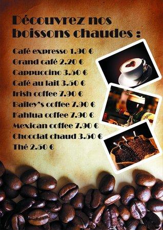 CheckPoint Pub: Coffe list