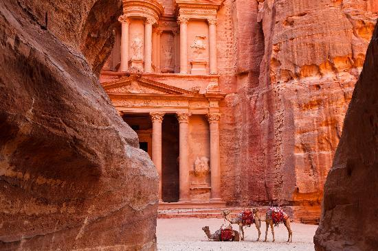 "Jordan: ""Al Khazneh"" - The Treasury, Petra"