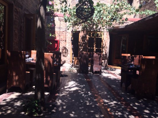 Peumayen Ancestral Food : The patio