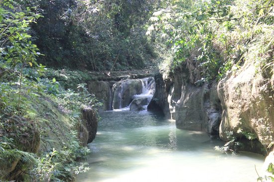 Rancho Lobo Gris: The smaller falls