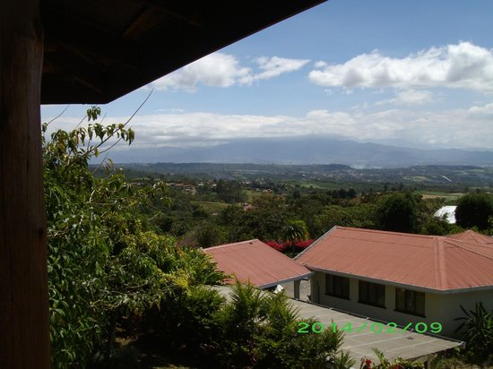 Finca Vibran Bed and Breakfast: View