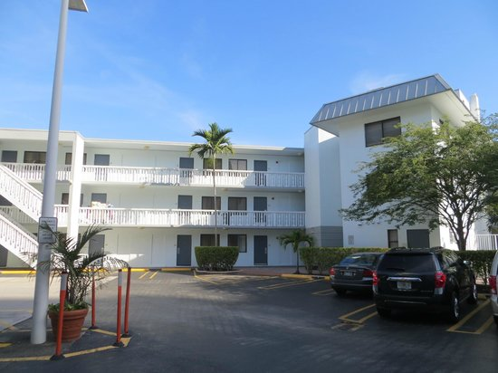 Residence Inn by Marriott Miami Coconut Grove: Hotelansicht