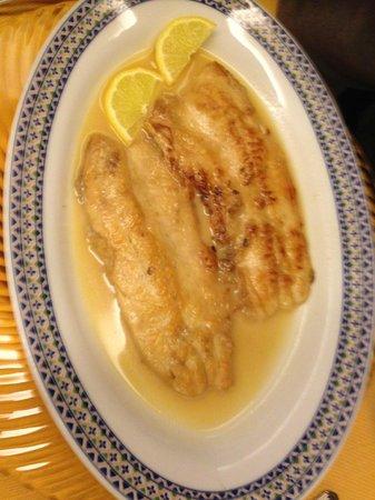 Trattoria da Picchietto: coregone in salsa di burro e limone