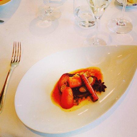 Auberge du Pere Bise : The best foie gras ever!!