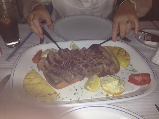 Restaurante Atlantico: chateaubriand.....