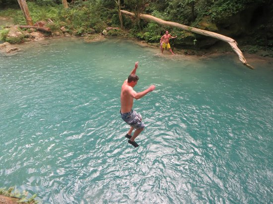 Island Gully Falls: Yee-haw!