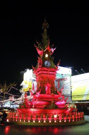 Clock Tower : light show