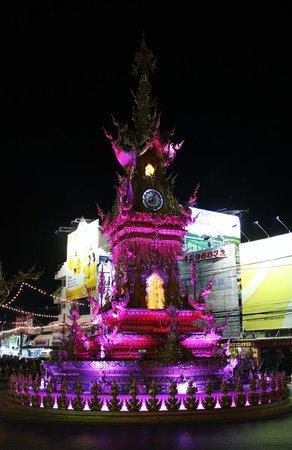 Clock Tower: light show